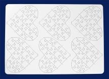Herz-Puzzle 21 Teile