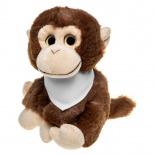 Monkey with bandana