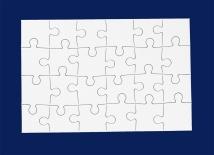 Postkartonpuzzle 24 Teile